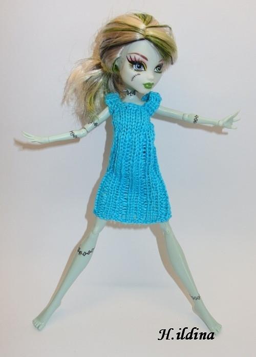 OBLEČEK na panenku MONSTER HIGH šaty