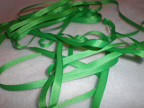 Stuha taftová zelená  - 5m