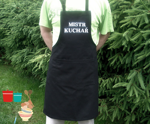 Zástěra -Mistr kuchař