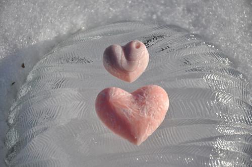 Valentýn - Aroma vosk srdce