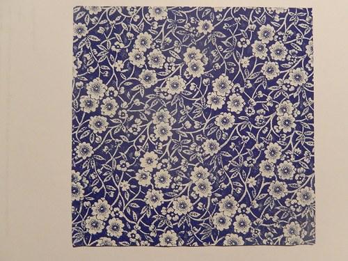 Ubrousek na decoupage - burleigh modrý
