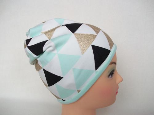 Čepice oboustranná (triangl )