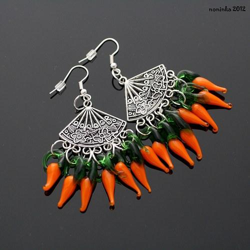 Chilli papričky oranžové