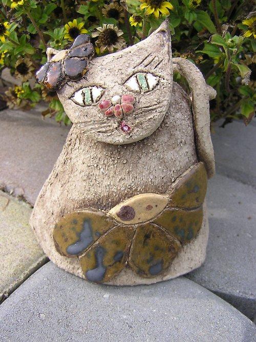 kramická kočička kytičková
