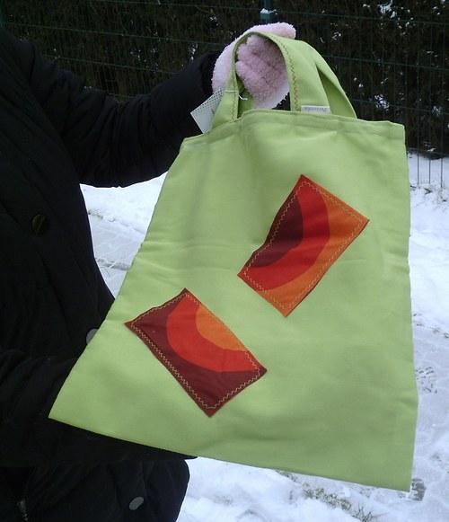 Žabičková veselá taška na nákupy