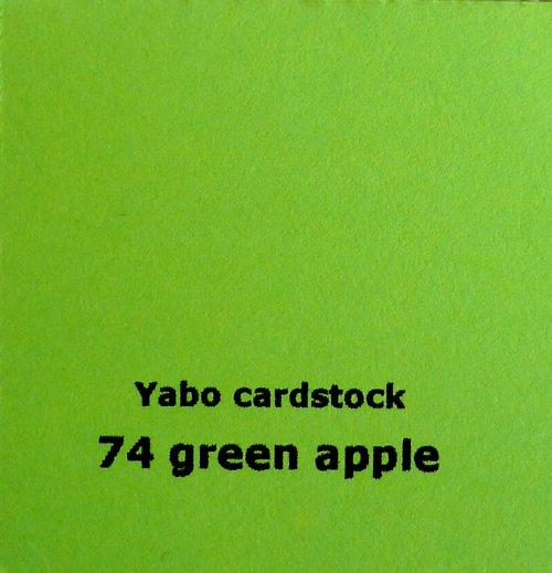 Čtvrtka Yabo - Apple Green