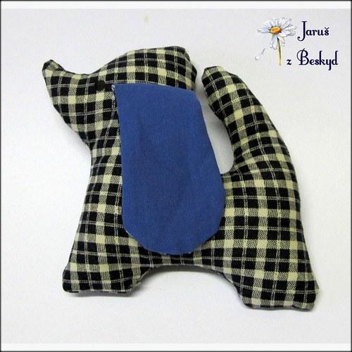 Textilní zvířátko - hadrošek