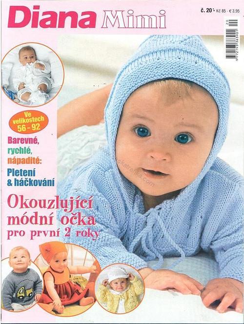 Časopis DIANA pletení a háčkování