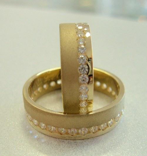 Snubní prsteny č.4