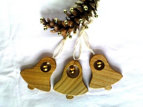 Drevený zvonček