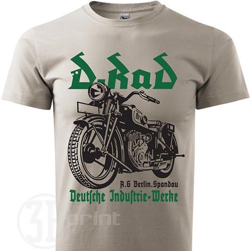 Pánske moto tričko D-RAD