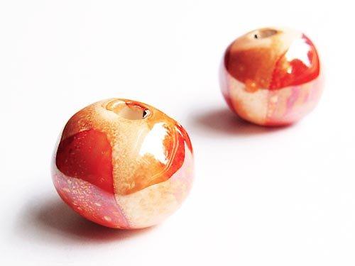 Velké oranžové kuličky ((KOM183))