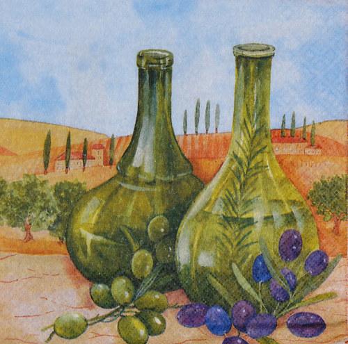 Ubrousek - vinobraní