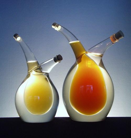 láhev objem asi 0,8 litru - KŘIVULE