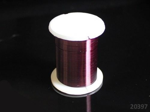 20397-B12 Bižuterní drát 0.3mm TM.FIALOVÁ, cív.10m