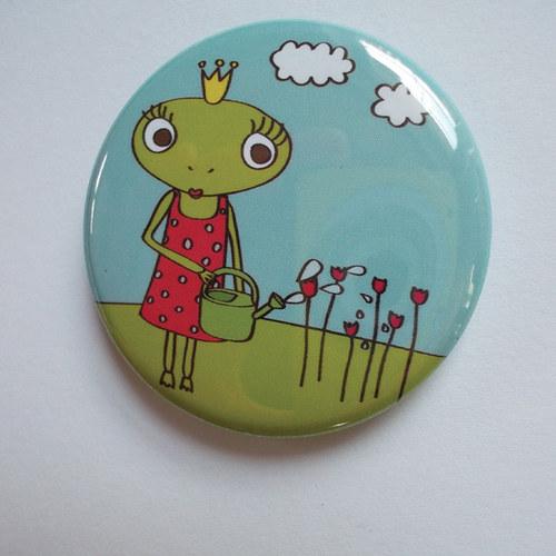 Magnetka s žabí princeznou