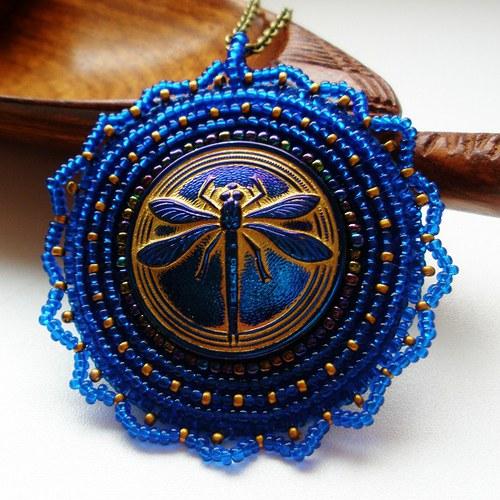 Mis des libellules royales bleues