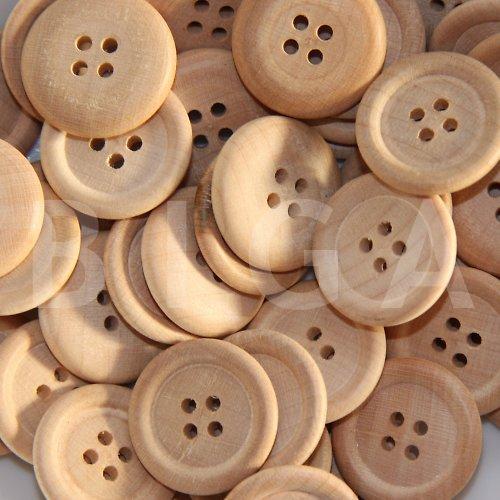 dřevěné knoflíky 22mm