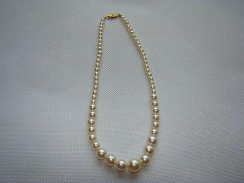 Korálky - náhrdelník č8 (perly)