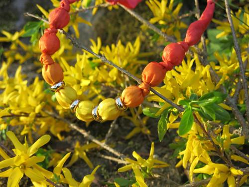 Žlutooranžové korále