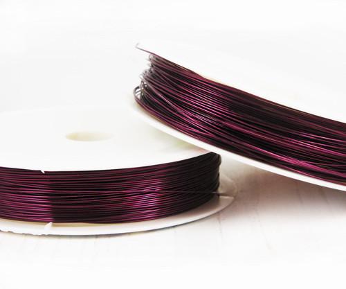 16m 52ft 17yrd Fialová Violet Umělecké Mosaz Drát