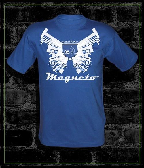 Tričko bílé Magneto