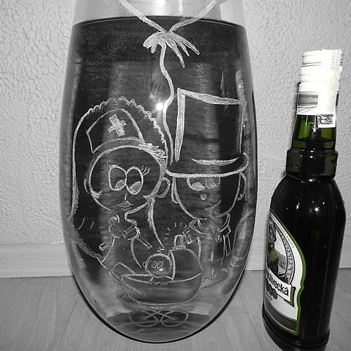 JÁ a TY-váza pro novomanžele