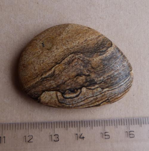 Jaspis obrázkový - 4,6 cm