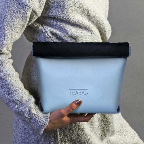Taška TEABAG, kolekce PASTELS, světle modrá