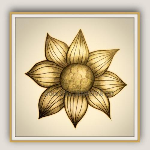 Kamenná květina III.