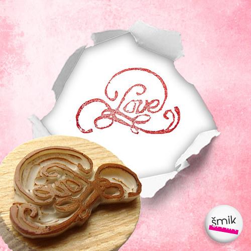 razítko Love