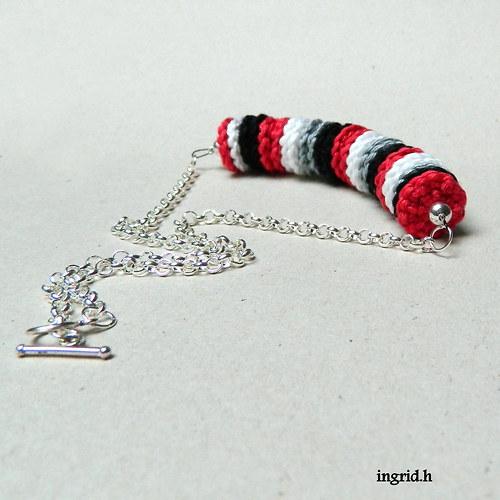 Háčkovaný náhrdelník 2