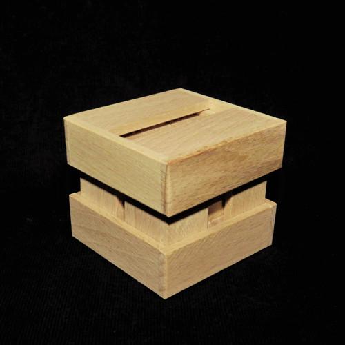 Krychle z 9 dílků - dřevěný hlavolam