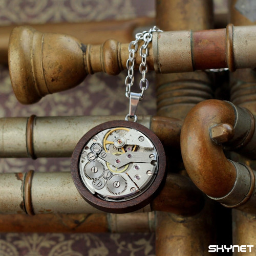 Dřevěný ornament