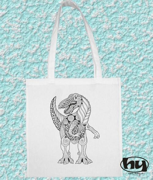 Dino - taška k domalování