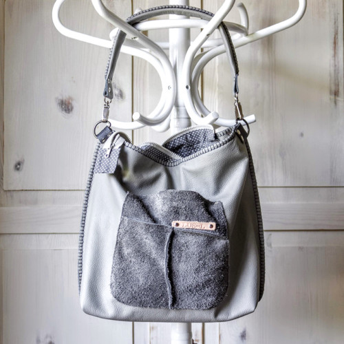 Casual leather bag No.4