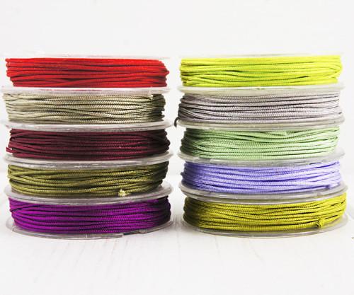 10 x 10m Smíšené Barvy Set Nylon Kabel Lištování V