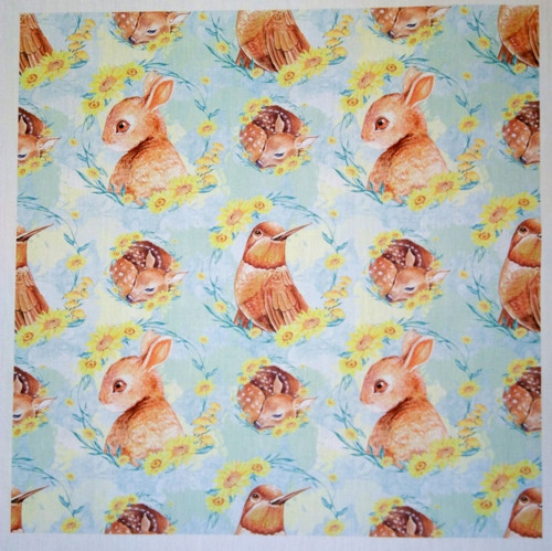 POLYBAVLNA-panel 35x35 cm RABBIT