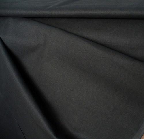 100 % bavlna jednofarebná čierna