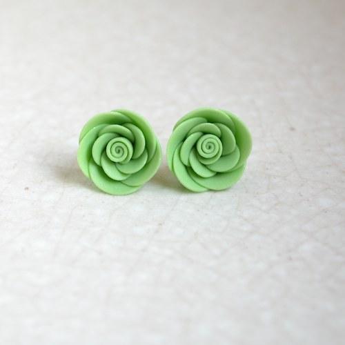 Zelené růžičky