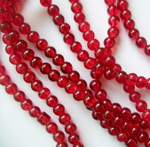 Práskačky červené