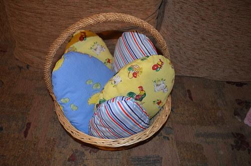 Košíček plný vajíček