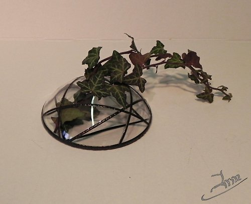 plochá váza