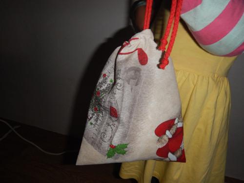 Pytlíček na poklady, na dárečky