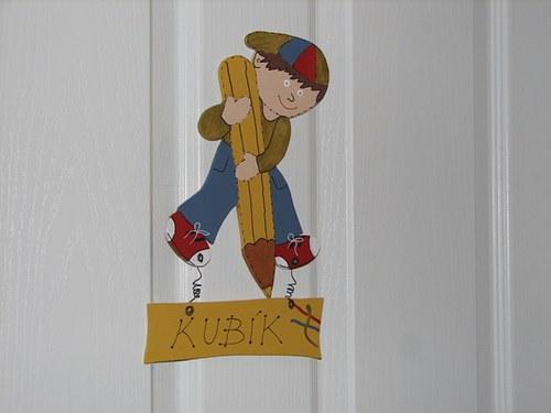 Cedulka na dveře pro malé MALÍŘE