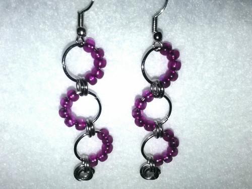 Náušnice, Purple dream