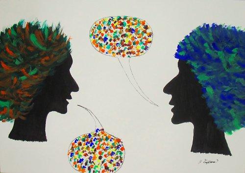 Barvitý rozhovor