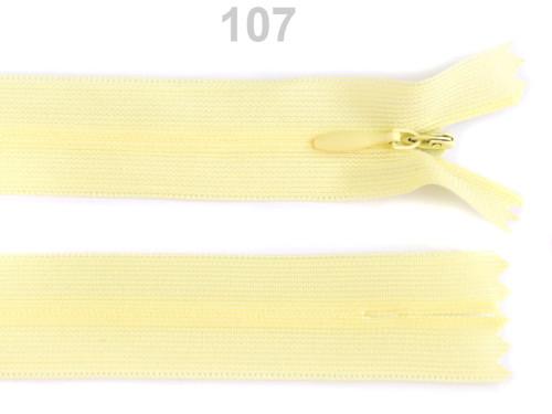 skrytý zip 20cm