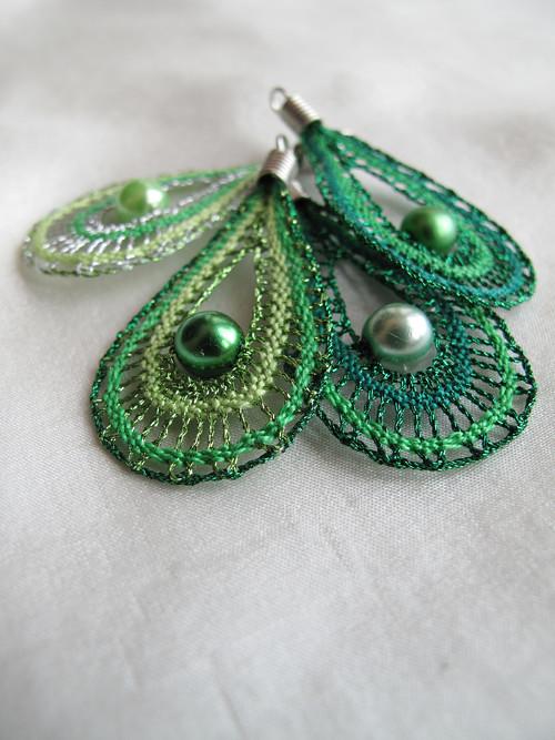 Šťavnatě zelené kapičky