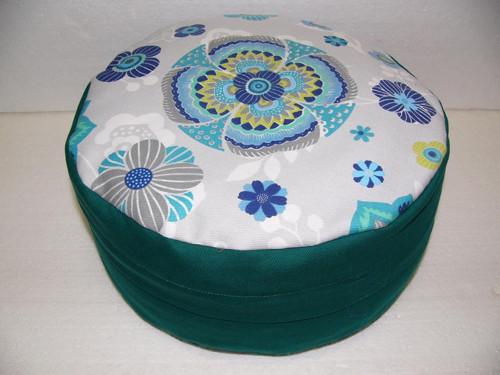 Pohankový sedák s mandalou 12 cm vysoký